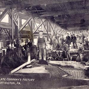 Pittston Slate Company's Factory, Slatington, PA.