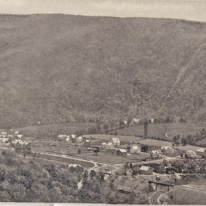 Panoramic View of Palmerton and Lehigh Gap, Pa