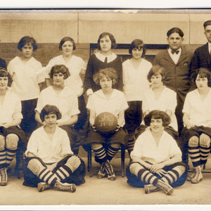 Slatington High School 1924-25 Girl's Basketball Team