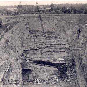 Pittston Slate Company&#039;s Quarry No. 2<br /><br /> Slatington, PA.