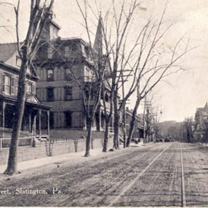 Lower Main Street, Slatington, Pa.