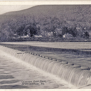 Lehigh Gap Dam, Slatington, PA.