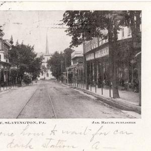 Upper Main St, Slatington, PA.