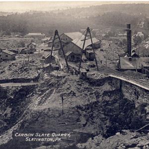 Carbon Slate Quarry,<br /><br /> Slatington, PA