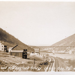 Lehigh and New England Bridge, Lehigh Gap, Pa.