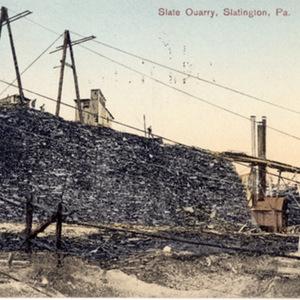 Slate Quarry, Slatington, Pa.