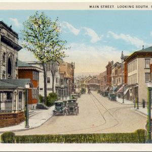 Main Street, Looking South, Slatington, PA.