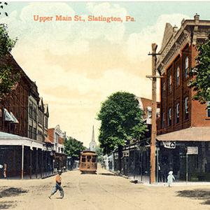 Upper Main Street, Slatington, Pa.