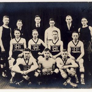 Slatington High School 1919-20 Men's Basketball Team