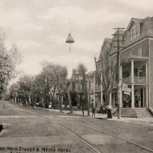 Upper Main Street &amp; Neff&#039;s Hotel<br /><br /> Slatington, PA.