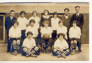 Slatington High School 1924-25 Women's Basketball Team