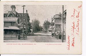 Lower Main St, Slatington, PA.
