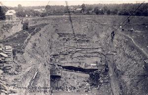 Pittston Slate Company Quarry No. 2 Slatington Pa
