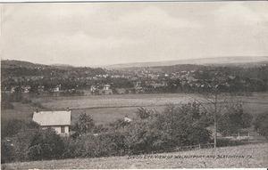 Bird's Eye View of Walnutport and Slatington, PA