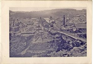 Carbon Slate Quarry, Slatington, PA