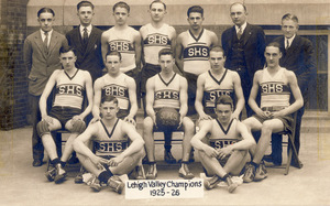 Slatington High School 1925-26 Men's Basketball Team