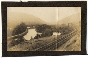 Lehigh Gap, Lehigh Canal and the Central of New Jersey Railroad