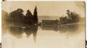 Lehigh Canal Wooden Bridge, Walnutport, Pa, Second View