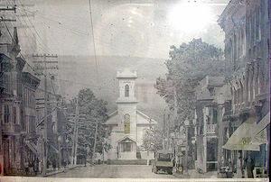 Main Street View Looking towards the Presbyterian Church