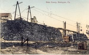 Slate Quarry, Slatington, Pa