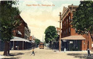 Upper Main Street, Slatington, Pa.