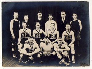 Slatington High School 1919-20 Men's Basketball Team
